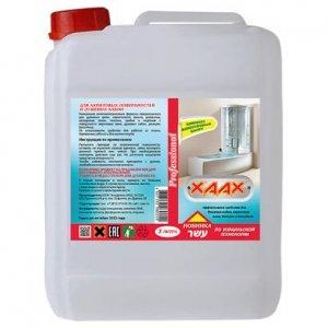 Средство для акриловых поверхностей и душа канистра 3 литра XAAX