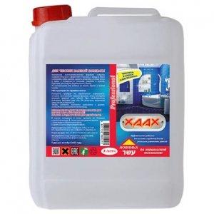 Универсальное средство для чистки ванной комнаты канистра 3 литра ХААХ
